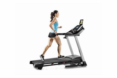 Exercise machine, Exercise equipment, Treadmill, Sports equipment, Physical fitness, Leg, Elliptical trainer, Balance,