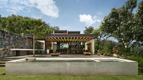 Progetti Esterni Di Case : Progetto casa moderna interni ed esterni mozzafiato