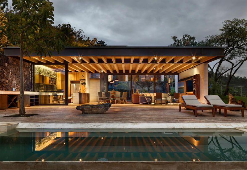 Progetti Esterni Case : Progetto casa moderna interni ed esterni mozzafiato