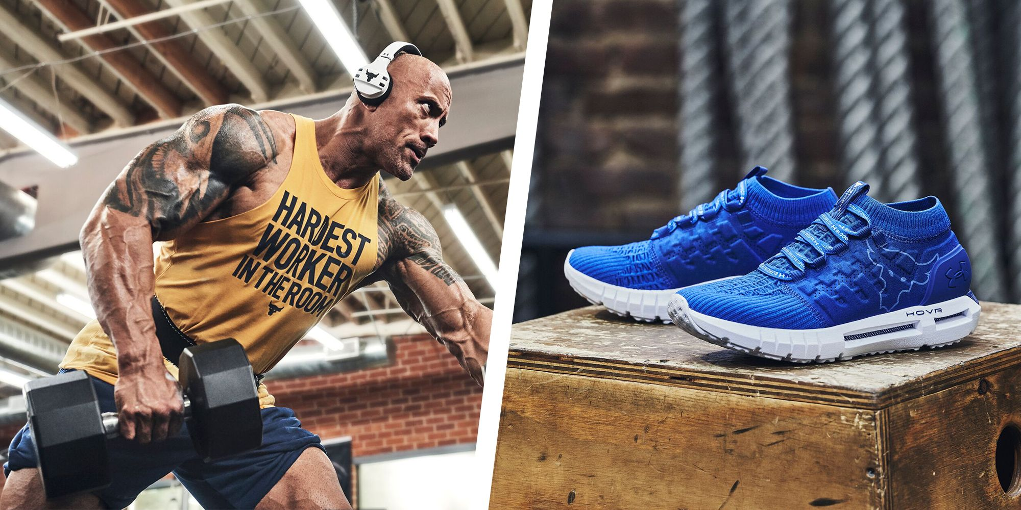Get Ready to Bend Boundaries With The Rock's Latest Under Armour Drop