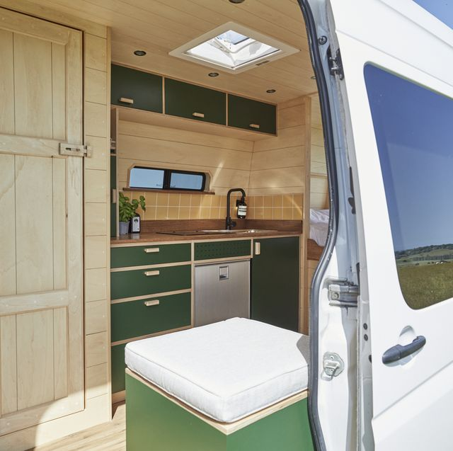 british couple moved into a campervan and now build tiny stylish rental homes on wheels