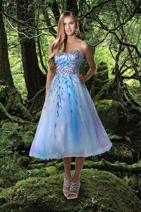 4064f72f2d4 Alfred Angelo Disney Arial Ball Gown Prom Dress 5009