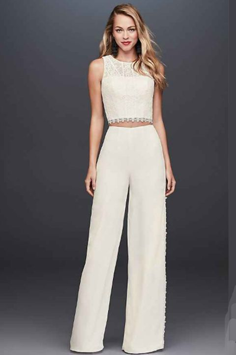 19 Best Two Piece Prom Dresses Of 2018 Stylish Crop Top