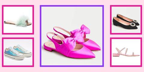 flat prom shoes