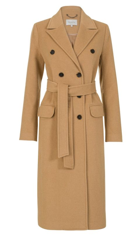 Clothing, Trench coat, Coat, Overcoat, Outerwear, Beige, Duster, Sleeve, Collar, Dress,
