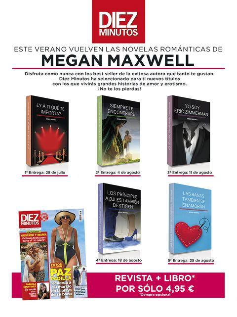 libros megan maxwell promocion