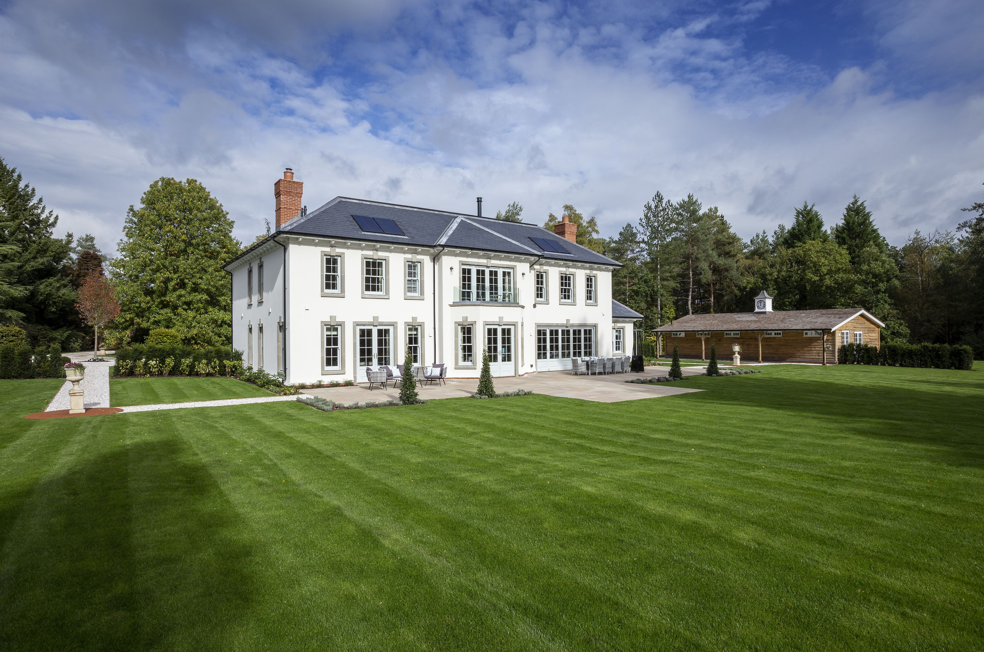 Modern house close to the filming location of Skyfall is for sale in Surrey