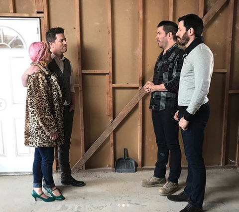 Property brothers, j.d., and annalee