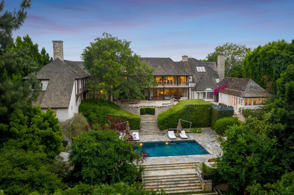 Jennifer Aniston and Brad Pitt's former Beverly Hills home is on the market for $44.5 million