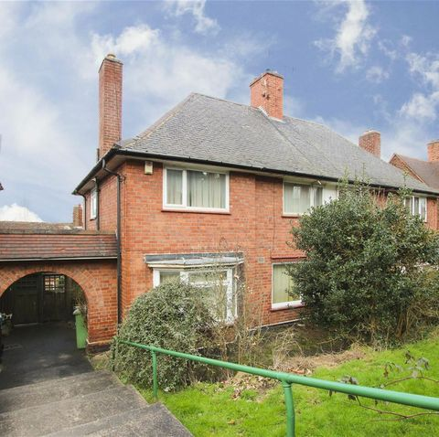 3 bed semi detached house for sale in nottinghamshire