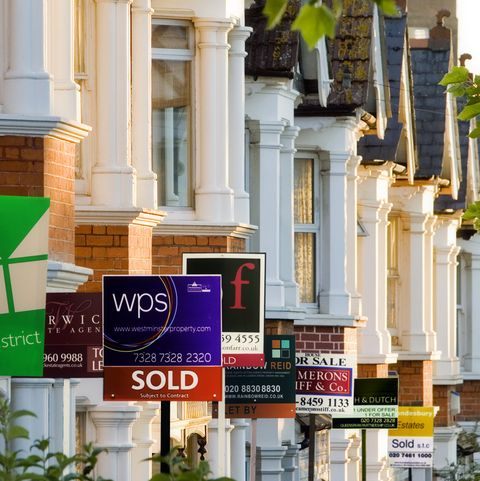 Property prices in the UK rise just £714 in a year
