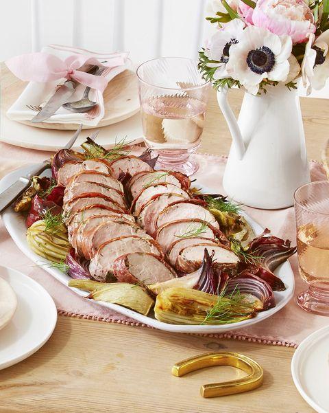 prosciutto pork tenderloin roasted fennel
