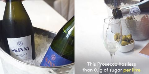 Put this Skinny Prosecco Bar at the top of your bucket list