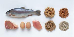 protein, food, healthy food, fish