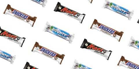 We did NOT know you could get protein versions of these popular chocolate bars