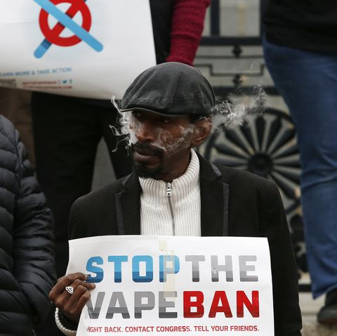 Rally Against Mass. Vape Ban At State House