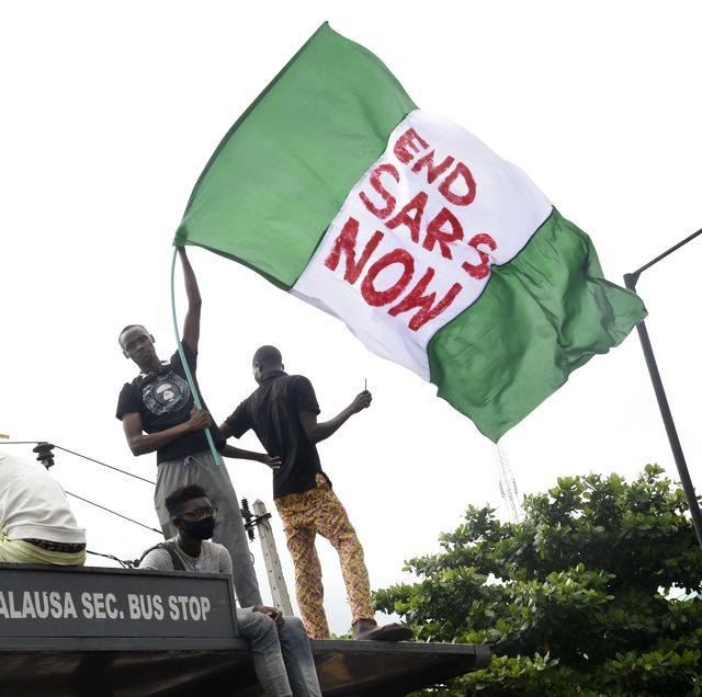 nigeria crime police demo