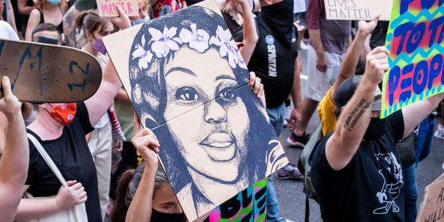 news   george floyd protest   march for black womxn   times square