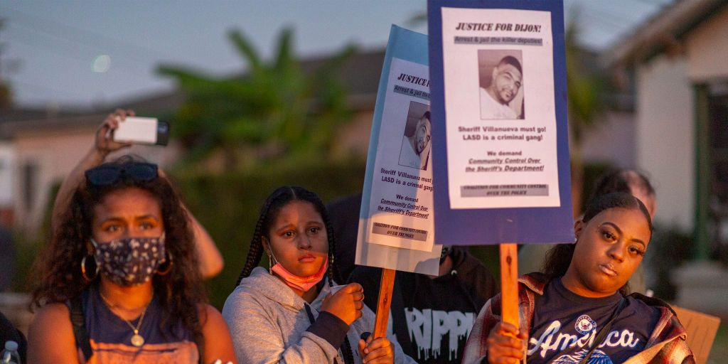 L.A. Deputies Kill a Black Cyclist After He Committed a Traffic Violation