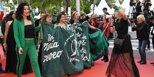 """The Wild Goose Lake (Nan Fang Che Zhan De Ju Hui/ Le Lac Aux Oies Sauvages)"" Red Carpet - The 72nd Annual Cannes Film Festival"