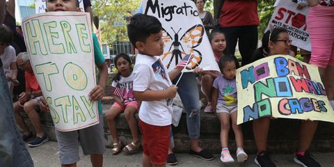 Protestors Rally Outside CT Court Hearing On Immigrant Child Separation