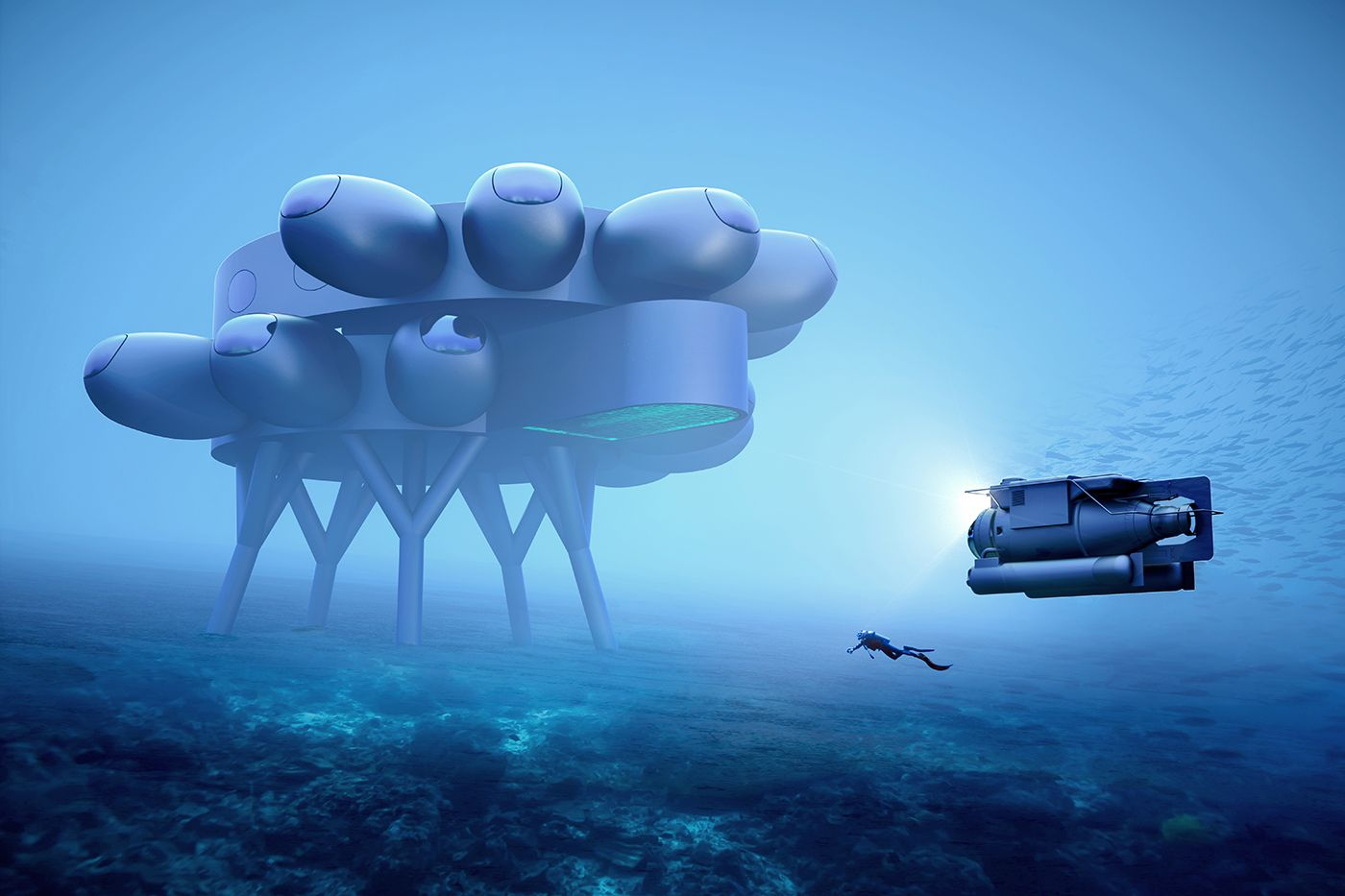 How About a Space Station at the Bottom of the Ocean?