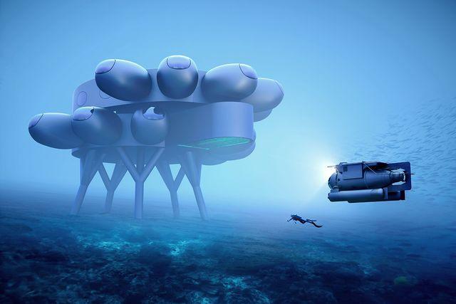undersea lab