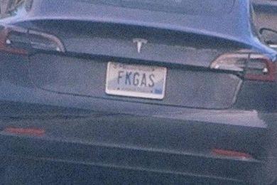 Vehicle, Vehicle registration plate, Car, Bumper, Automotive exterior, Trunk, Auto part, Tesla model s, Vehicle door, Sedan,