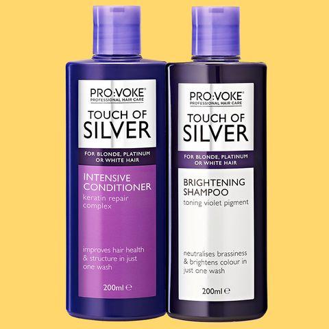 femme info pour vente de sortie PRO:VOKE Touch Of Silver Brightening Purple Shampoo and ...