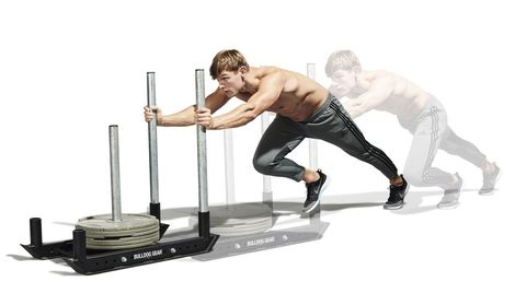 Best Exercises to Lose Weight: Weighted Sled and Prowler