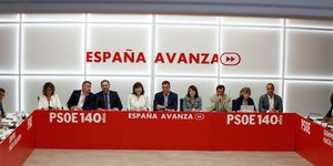 Meeting Of The Federal Executive Committee Of PSOE