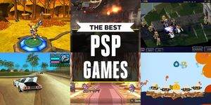the best psp games