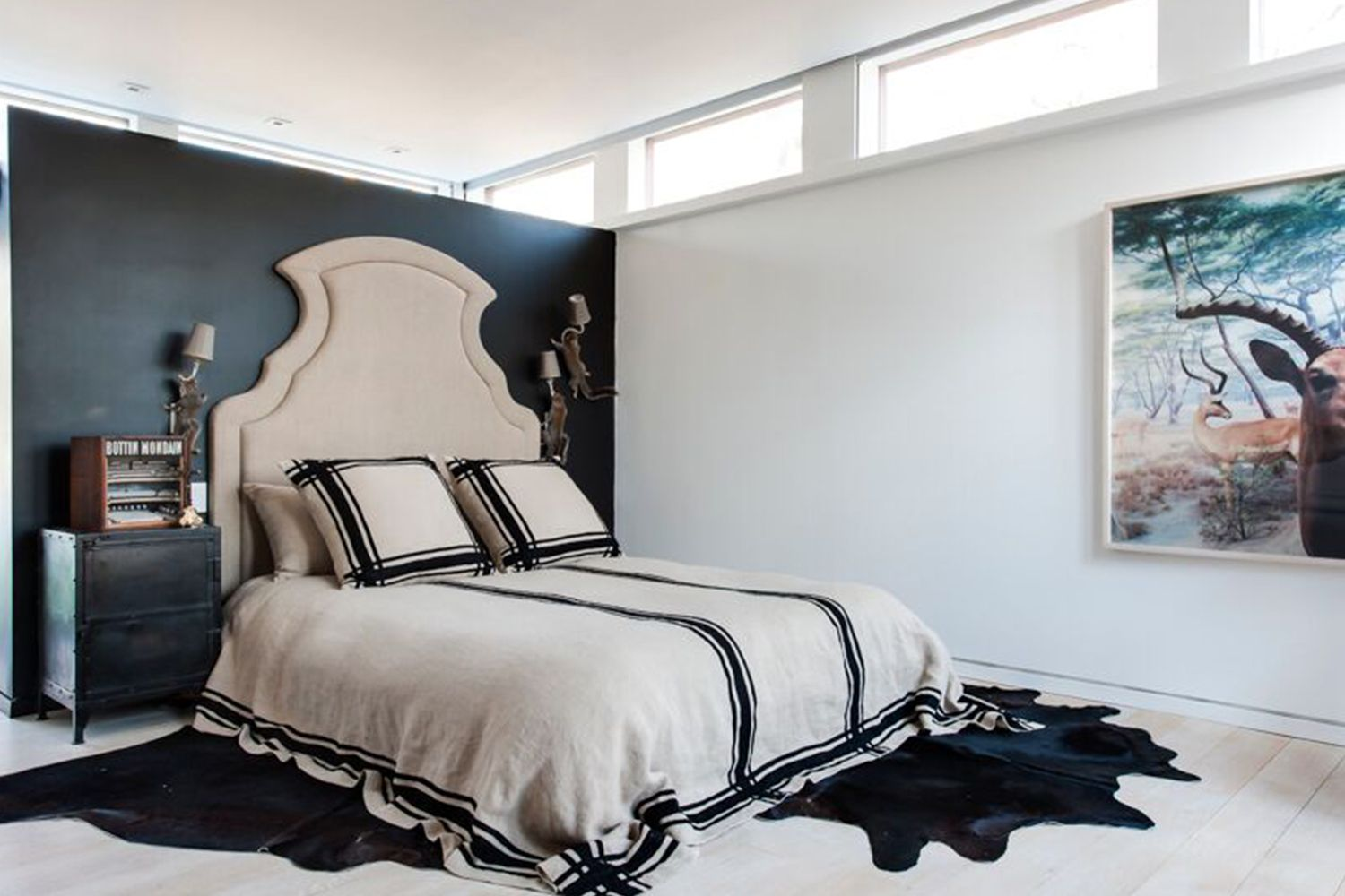 Incroyable Black White Bedrooms