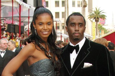 Puff Diddy y su ex, Kim Porter