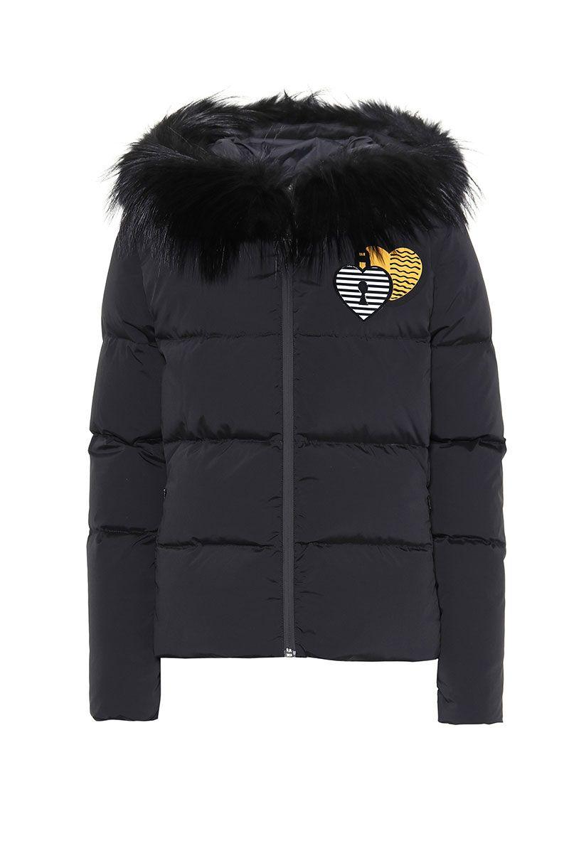 Black Fendi puffer jacket