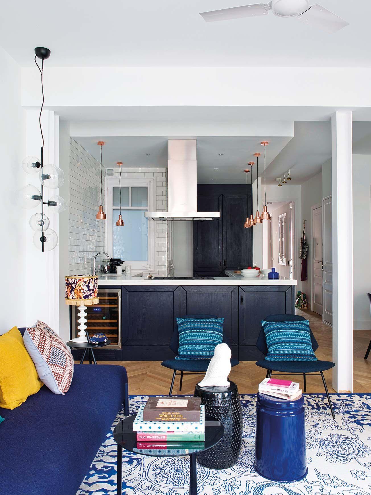 Open concept: Cocina abierta al salón