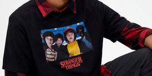 pull and bear camiseta stranger things barata