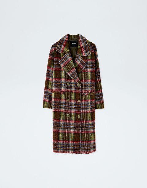 Plaid, Tartan, Pattern, Clothing, Textile, Design, Outerwear, Sleeve, Kilt, Robe,