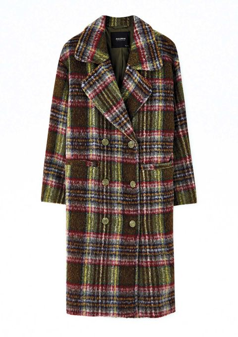 Especial abrigos. 10 abrigos estampados (cuadros, rayas y animal-print) por menos de 100 €.