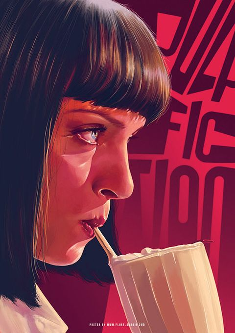 Nose, Lip, Chin, Mouth, Brown hair, Drinking, Illustration,