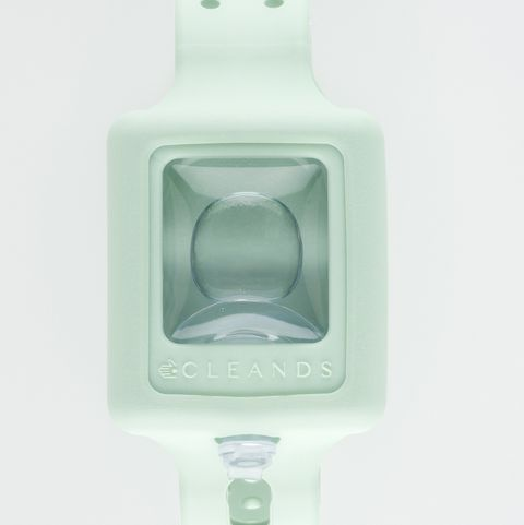 pulsera con gel hidroalcohólico