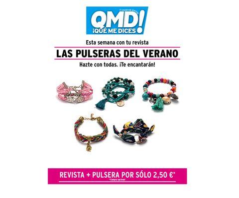 pulseras de verano promoción qmd