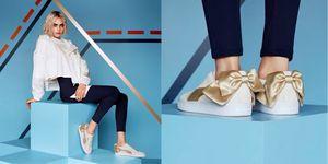 PUMA, PUMA SUEDE Bow Varsity, 夏天球鞋, 女鞋, 球鞋
