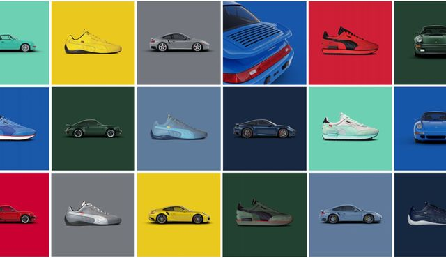 porsche 911 turbo sneakers