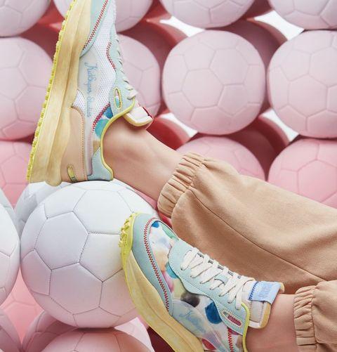 puma x kidsuper studios聯名運動鞋
