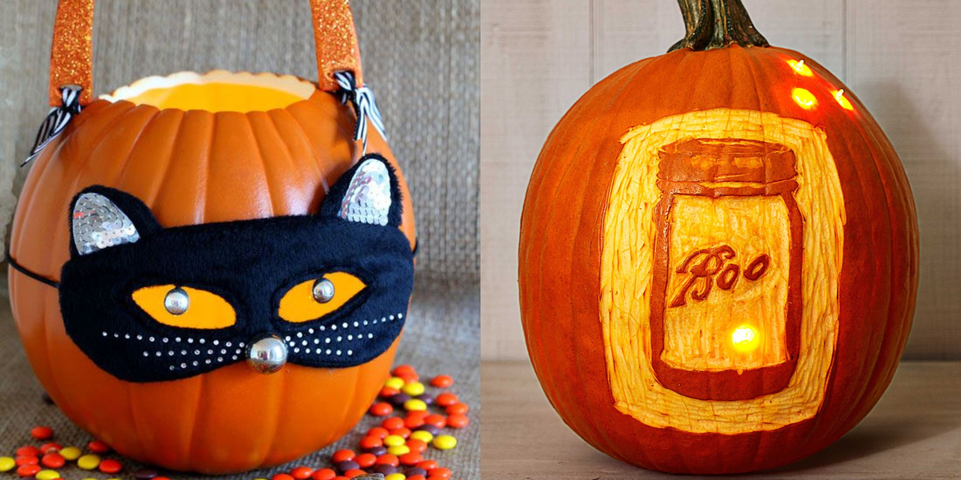 56 Pumpkin Carving Ideas That Put Regular Old Jack-o'-Lanterns to Shame