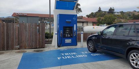 true zero hydrogen filling station