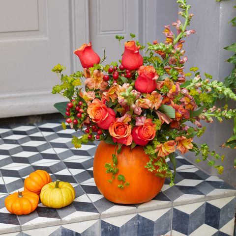 Make A Pumpkin Flower Vase And Flower Crown - Easy Pumpkin ...