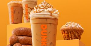 dunkin donuts cinnamon sugar pumpkin latte
