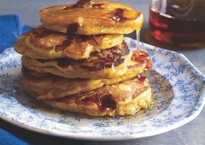Pumpkin-Bacon Pancakes